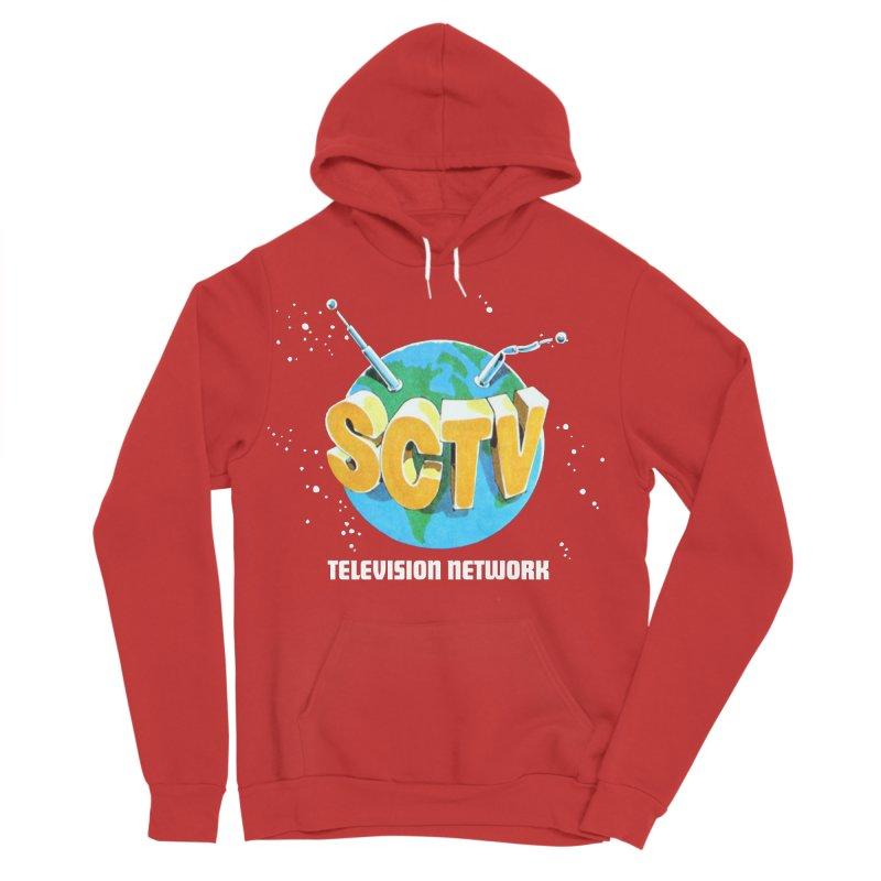 SCTV Global Men's Sponge Fleece Pullover Hoody by secondcity's Artist Shop