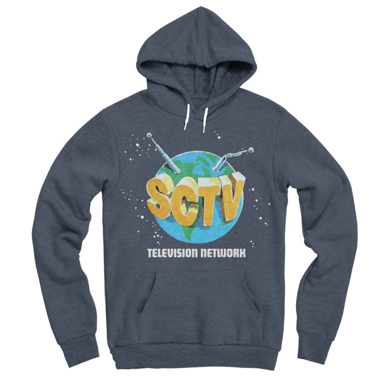 SCTV Global Men's Sponge Fleece Pullover Hoody by The Second City