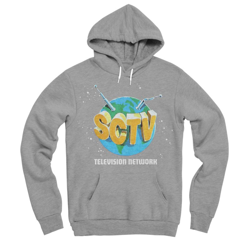 SCTV Global Men's Sponge Fleece Pullover Hoody by The Second City