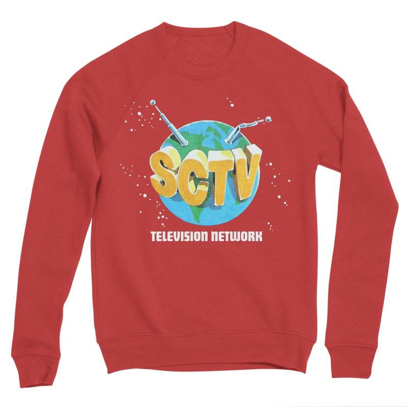 SCTV Global Men's Sponge Fleece Sweatshirt by secondcity's Artist Shop