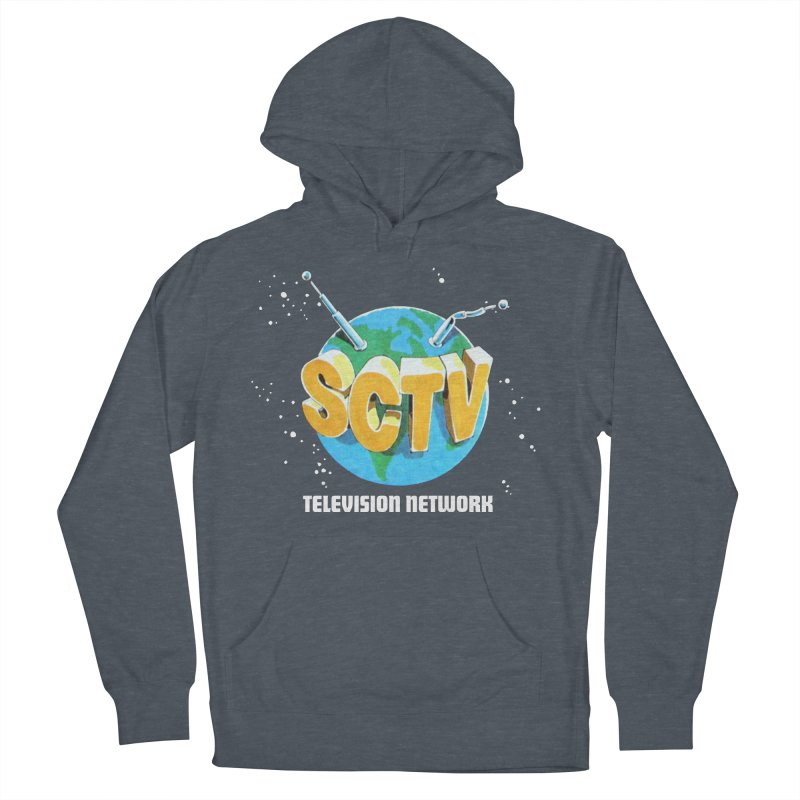 SCTV Global Men's French Terry Pullover Hoody by The Second City