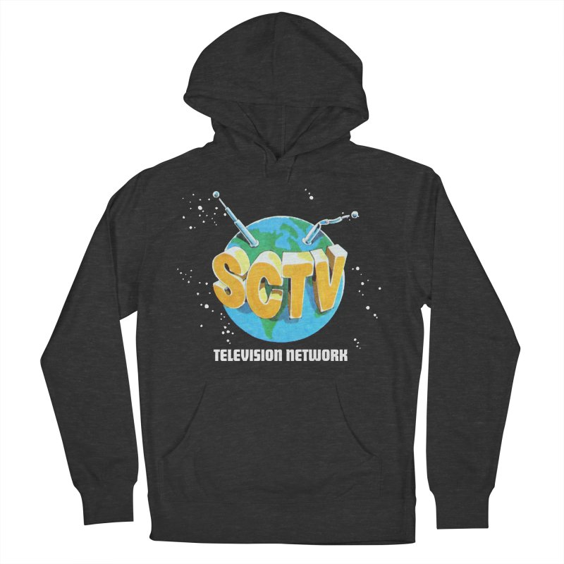 SCTV Global Men's French Terry Pullover Hoody by secondcity's Artist Shop