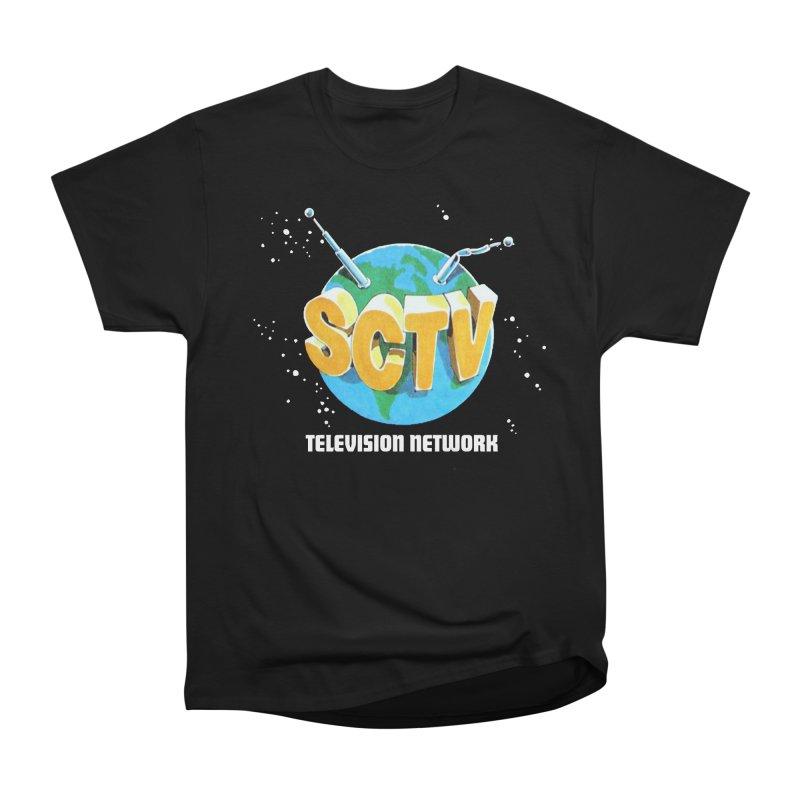 SCTV Global Women's Heavyweight Unisex T-Shirt by secondcity's Artist Shop