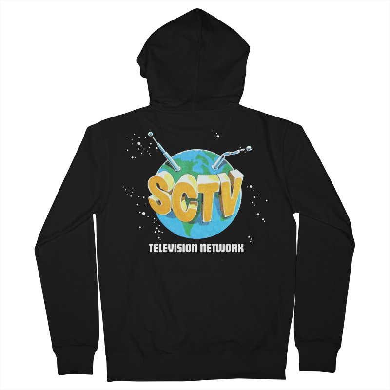 SCTV Global Men's French Terry Zip-Up Hoody by The Second City