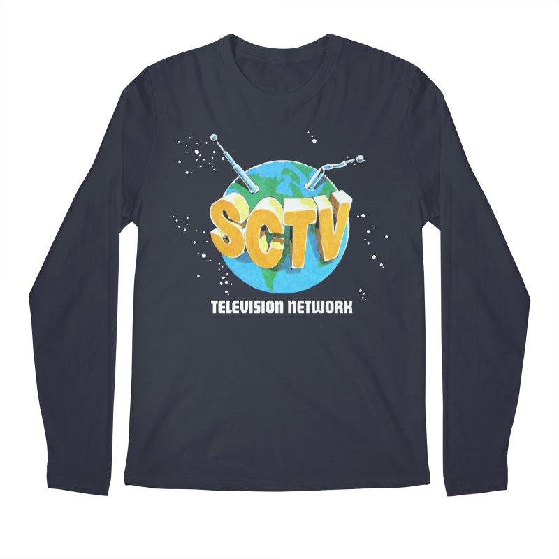 SCTV Global Men's Regular Longsleeve T-Shirt by secondcity's Artist Shop