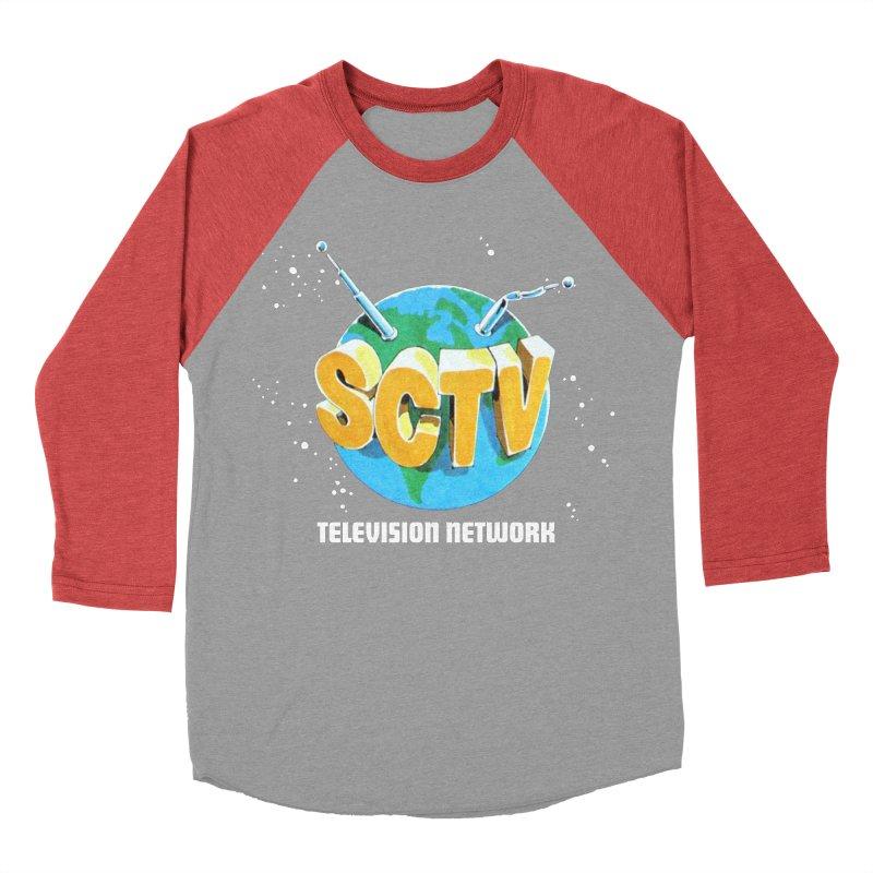 SCTV Global Women's Baseball Triblend Longsleeve T-Shirt by The Second City