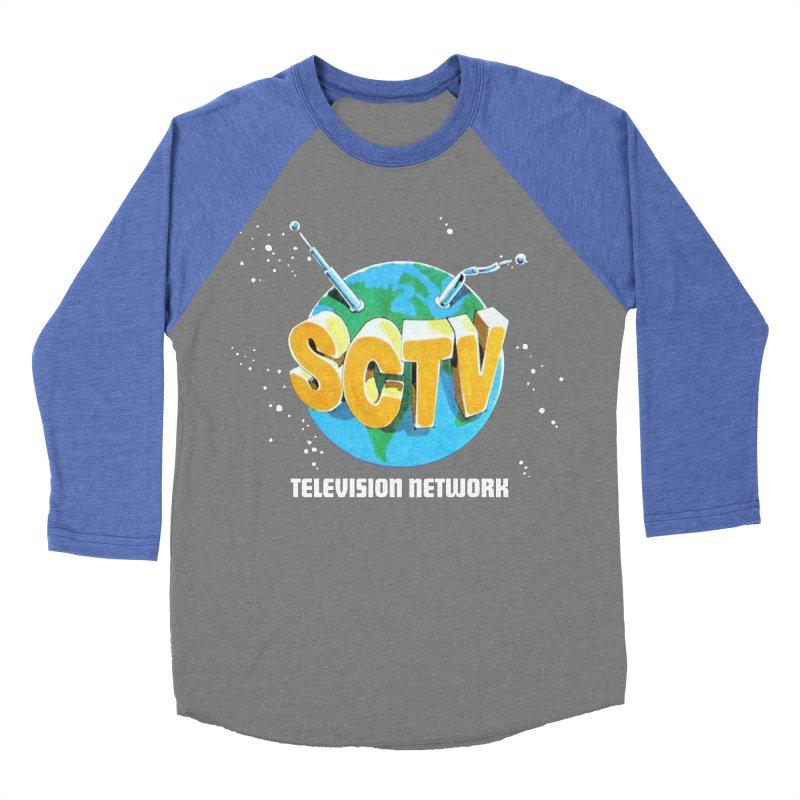 SCTV Global Men's Baseball Triblend Longsleeve T-Shirt by secondcity's Artist Shop
