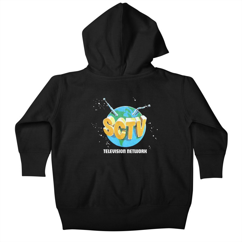 SCTV Global Kids Baby Zip-Up Hoody by The Second City