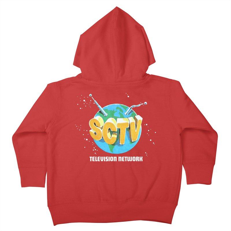 SCTV Global Kids Toddler Zip-Up Hoody by secondcity's Artist Shop