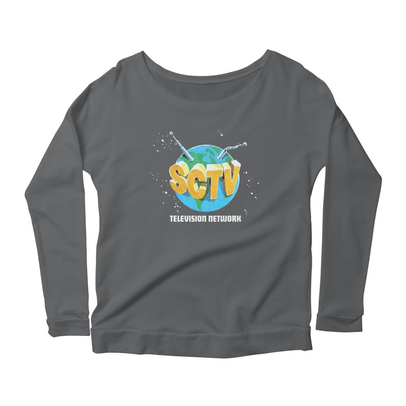 SCTV Global Women's Scoop Neck Longsleeve T-Shirt by The Second City