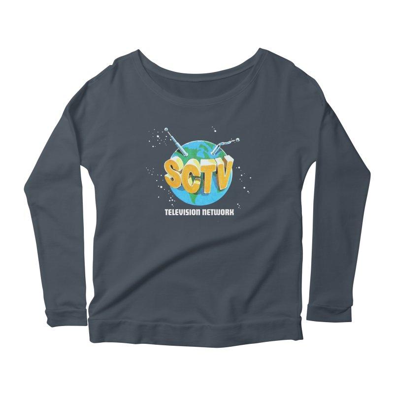 SCTV Global Women's Scoop Neck Longsleeve T-Shirt by The Second City