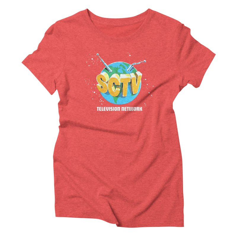 SCTV Global Women's Triblend T-Shirt by The Second City