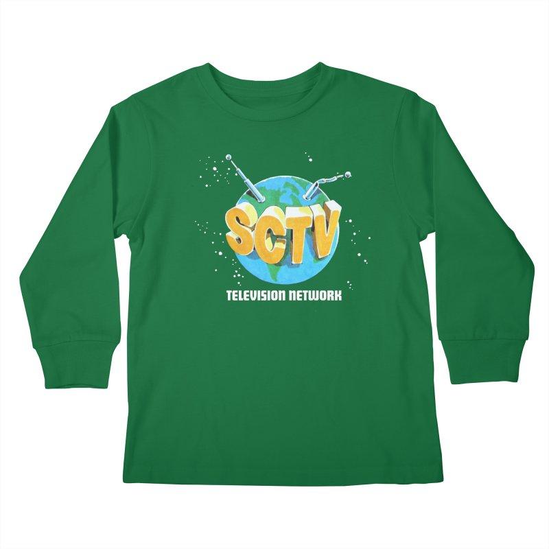 SCTV Global Kids Longsleeve T-Shirt by secondcity's Artist Shop