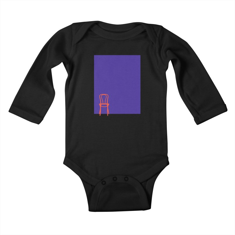 80s Bentwood Kids Baby Longsleeve Bodysuit by The Second City
