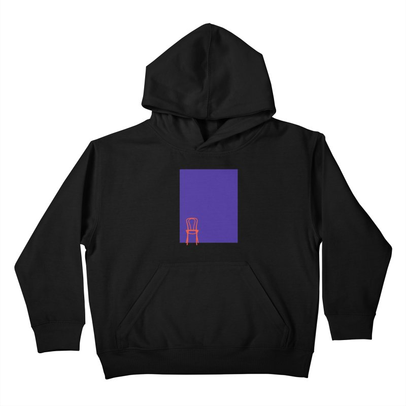 80s Bentwood Kids Pullover Hoody by secondcity's Artist Shop