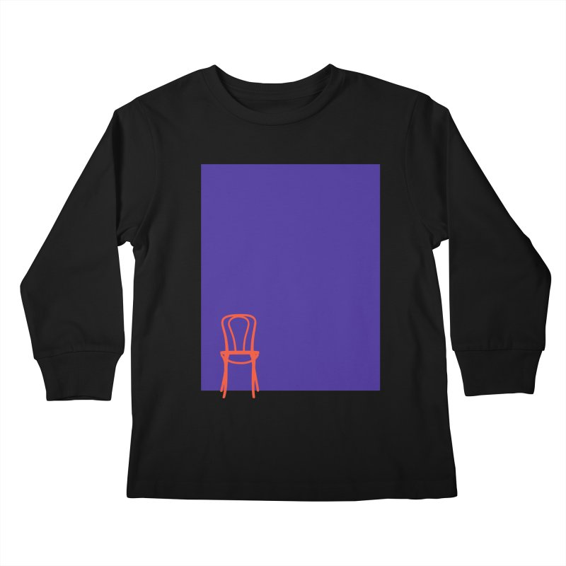 80s Bentwood Kids Longsleeve T-Shirt by secondcity's Artist Shop
