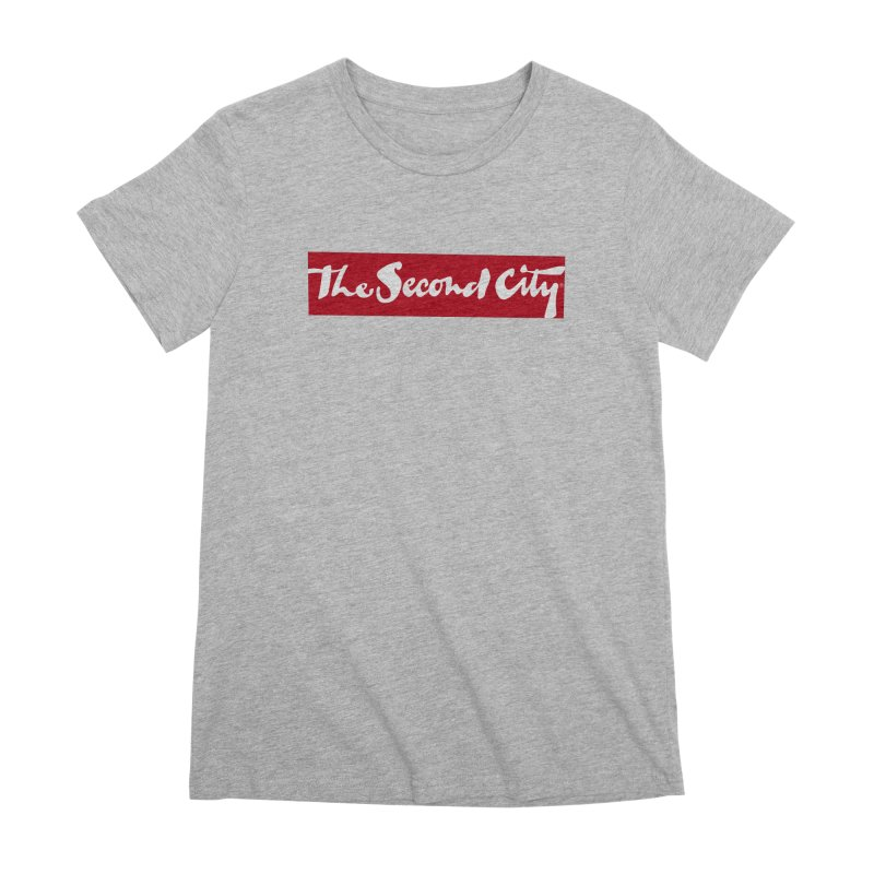 Red Flag Women's Premium T-Shirt by The Second City