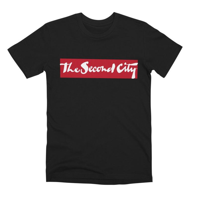 Red Flag Men's Premium T-Shirt by secondcity's Artist Shop