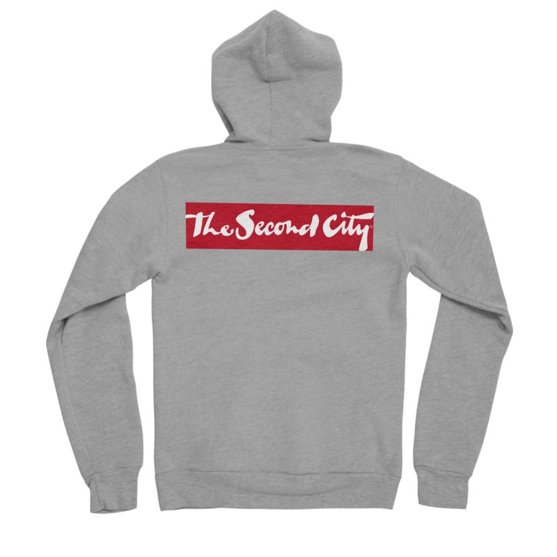 Red Flag Women's Sponge Fleece Zip-Up Hoody by The Second City