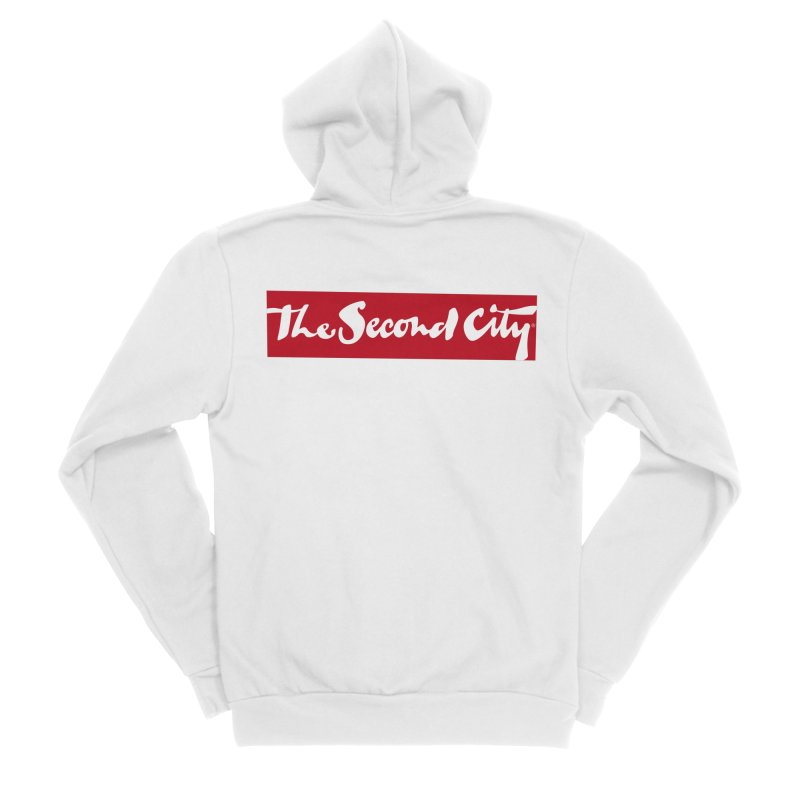 Red Flag Men's Sponge Fleece Zip-Up Hoody by The Second City
