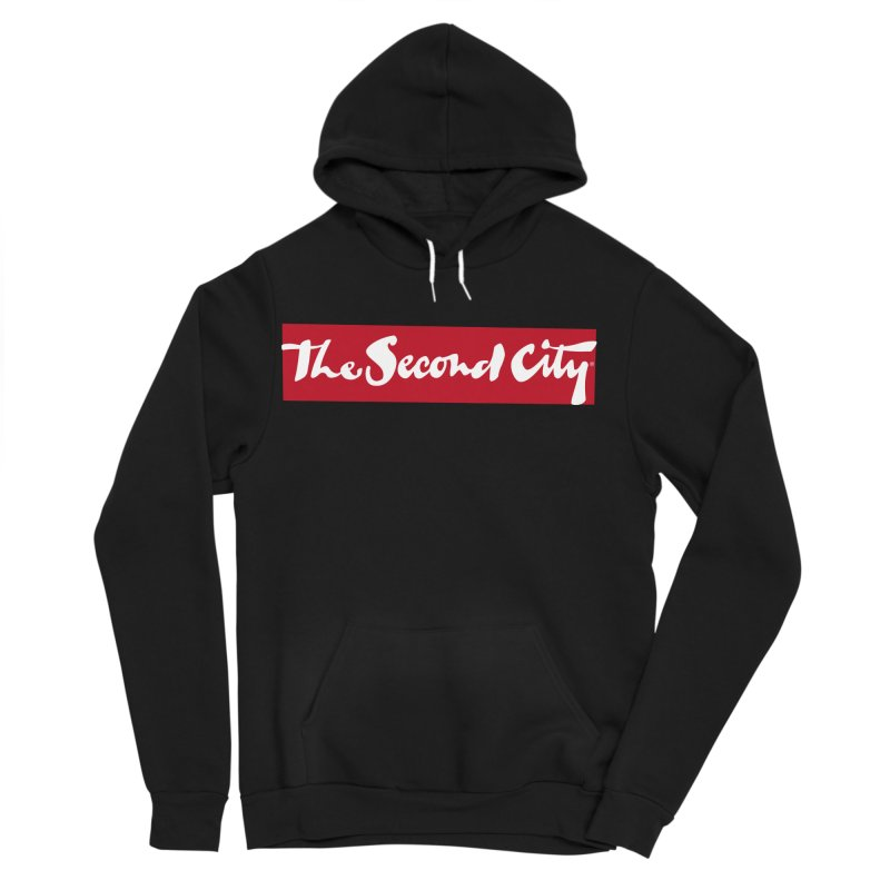 Red Flag Men's Sponge Fleece Pullover Hoody by The Second City