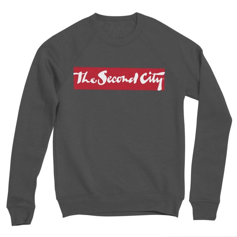Red Flag Men's Sponge Fleece Sweatshirt by secondcity's Artist Shop