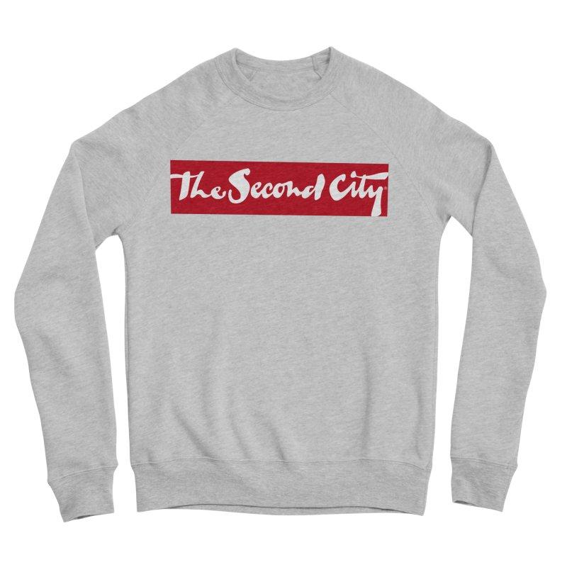 Red Flag Women's Sponge Fleece Sweatshirt by secondcity's Artist Shop