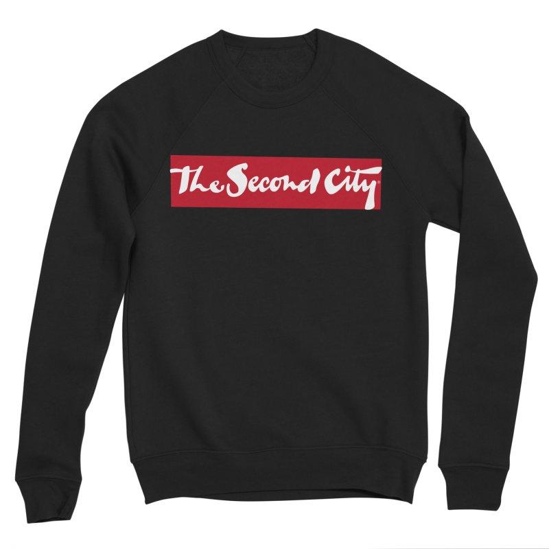 Red Flag Men's Sponge Fleece Sweatshirt by The Second City