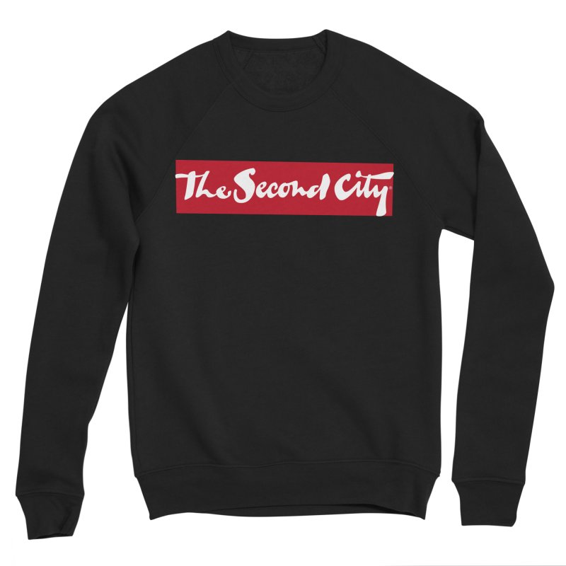 Red Flag Women's Sponge Fleece Sweatshirt by The Second City