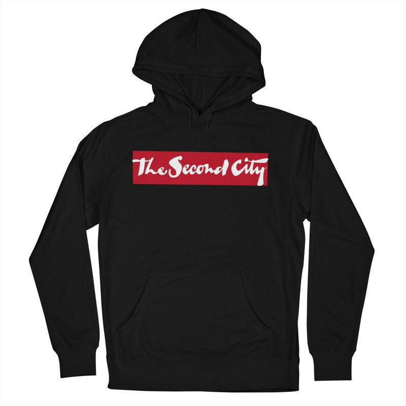 Red Flag Women's French Terry Pullover Hoody by secondcity's Artist Shop