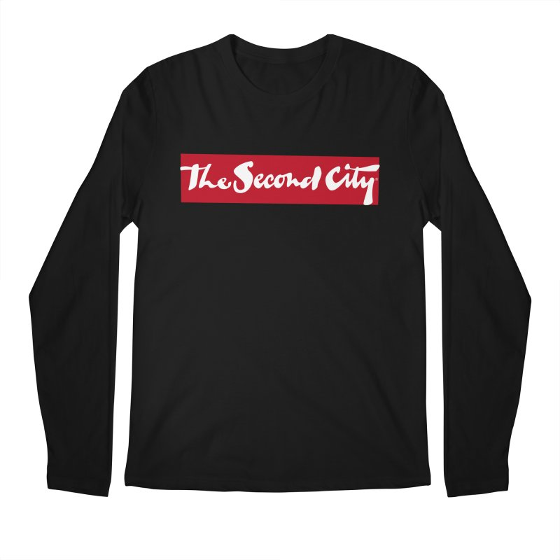 Red Flag Men's Regular Longsleeve T-Shirt by The Second City
