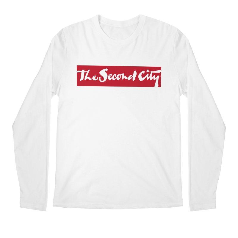 Red Flag Men's Regular Longsleeve T-Shirt by secondcity's Artist Shop