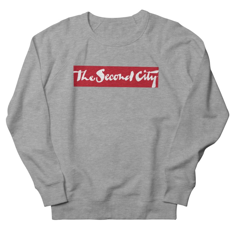 Red Flag Men's French Terry Sweatshirt by secondcity's Artist Shop