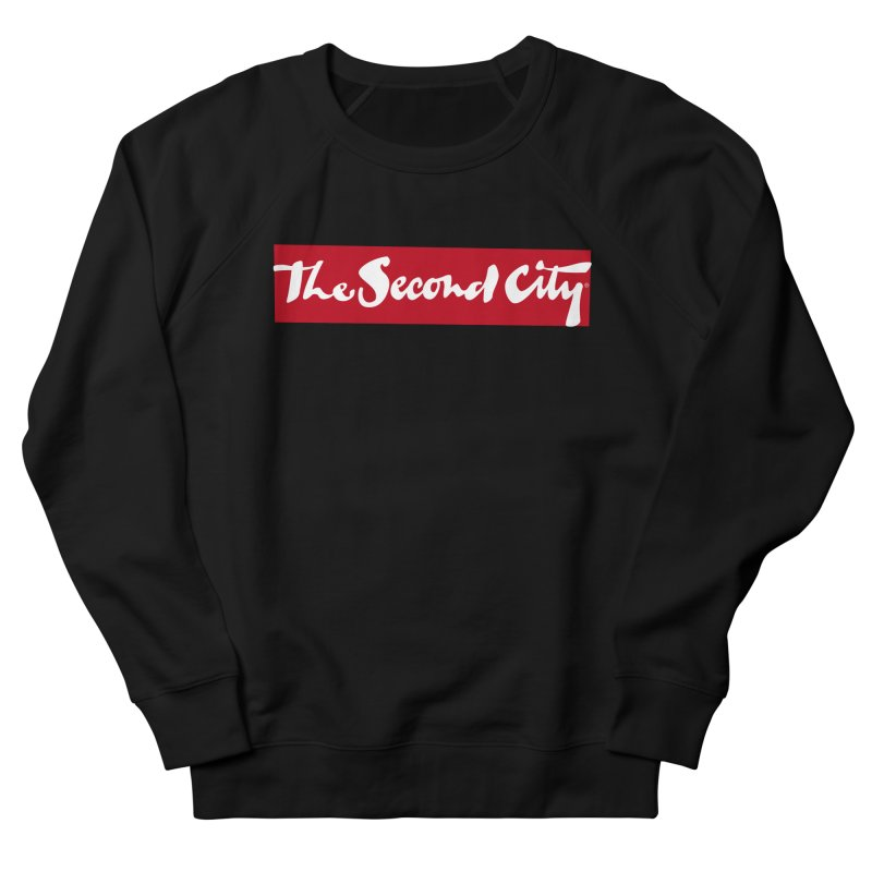 Red Flag Men's French Terry Sweatshirt by The Second City