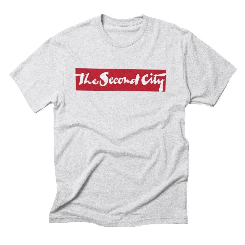 Red Flag Men's Triblend T-Shirt by secondcity's Artist Shop