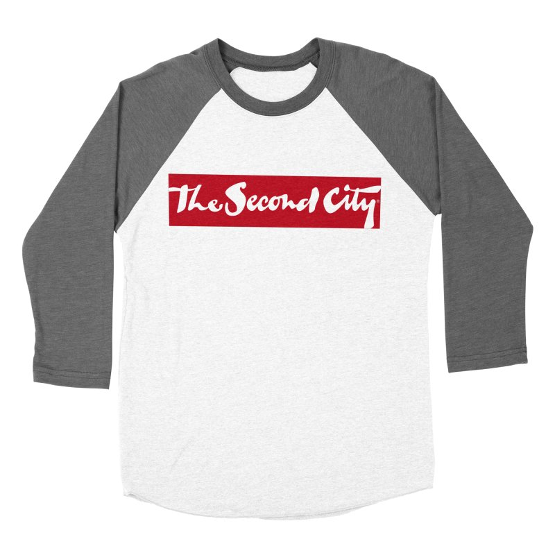 Red Flag Women's Baseball Triblend Longsleeve T-Shirt by secondcity's Artist Shop