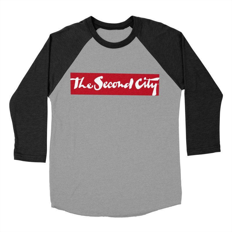 Red Flag Men's Baseball Triblend Longsleeve T-Shirt by The Second City