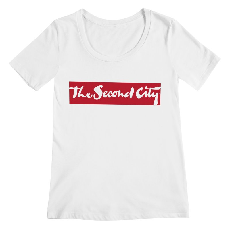 Red Flag Women's Regular Scoop Neck by The Second City