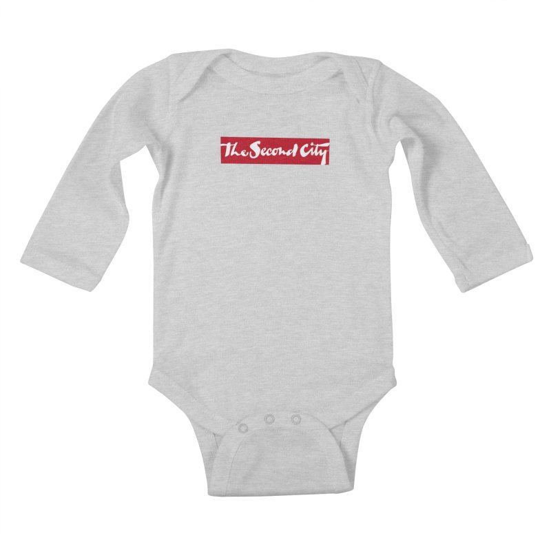 Red Flag Kids Baby Longsleeve Bodysuit by The Second City