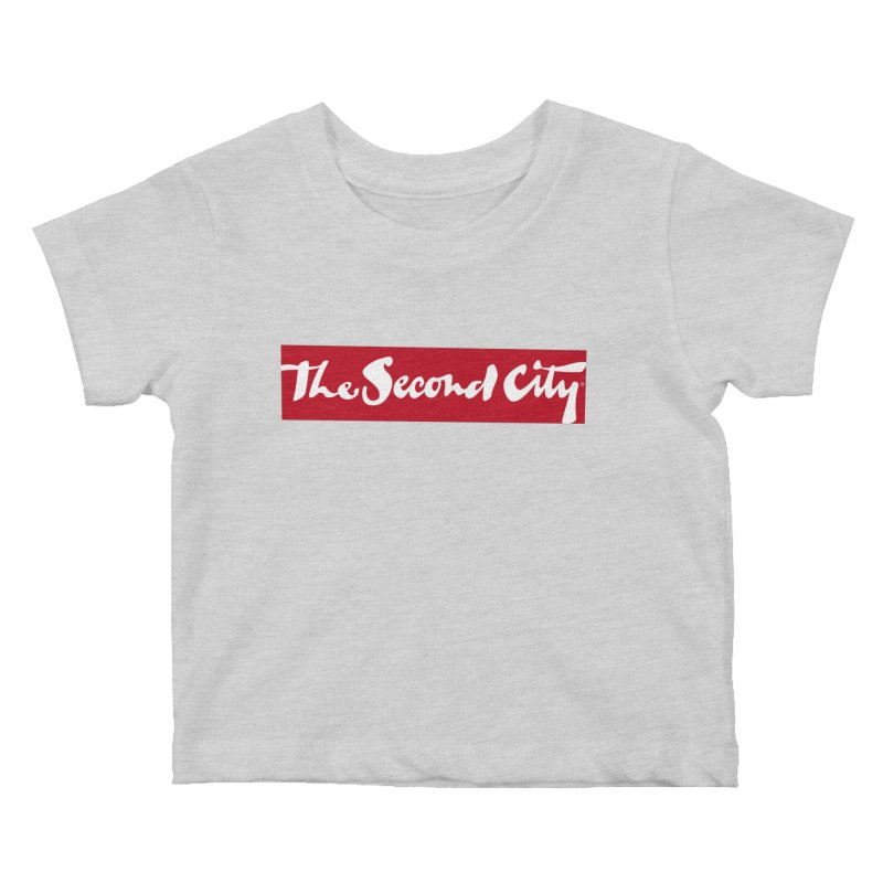 Red Flag Kids Baby T-Shirt by secondcity's Artist Shop