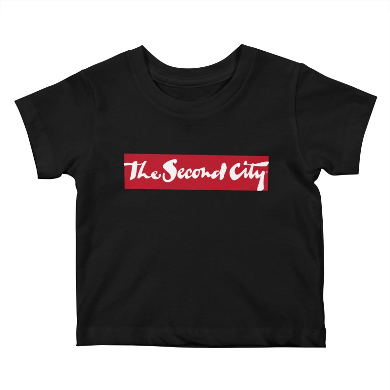 Red Flag Kids Baby T-Shirt by The Second City