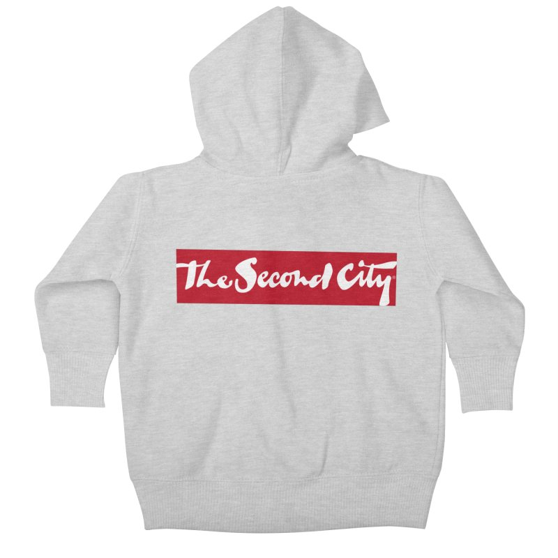 Red Flag Kids Baby Zip-Up Hoody by The Second City