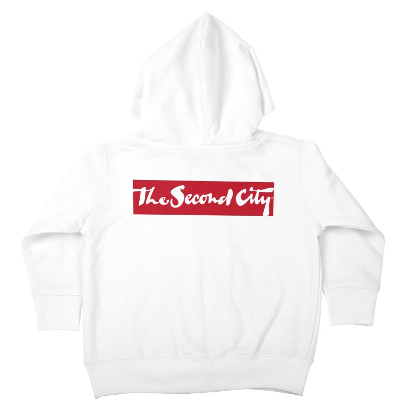 Red Flag Kids Toddler Zip-Up Hoody by secondcity's Artist Shop