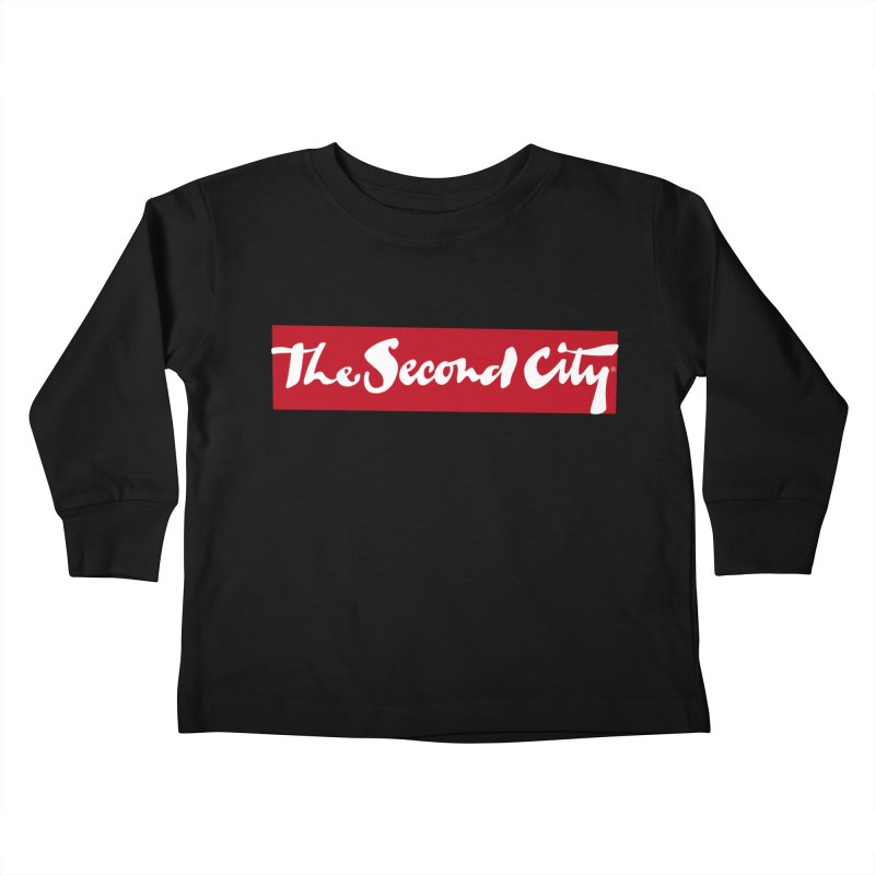 Red Flag Kids Toddler Longsleeve T-Shirt by The Second City