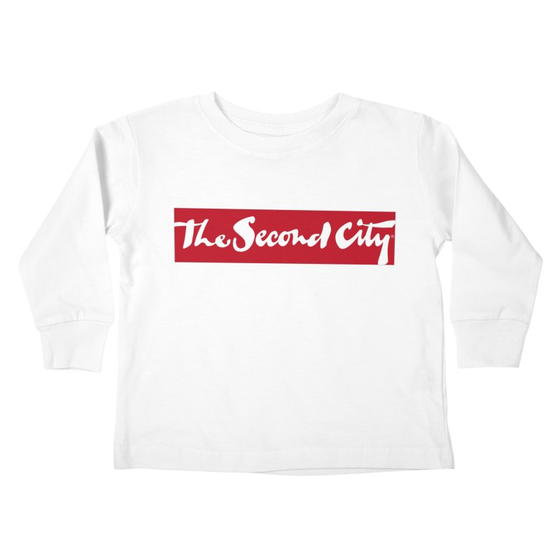 Red Flag Kids Toddler Longsleeve T-Shirt by secondcity's Artist Shop