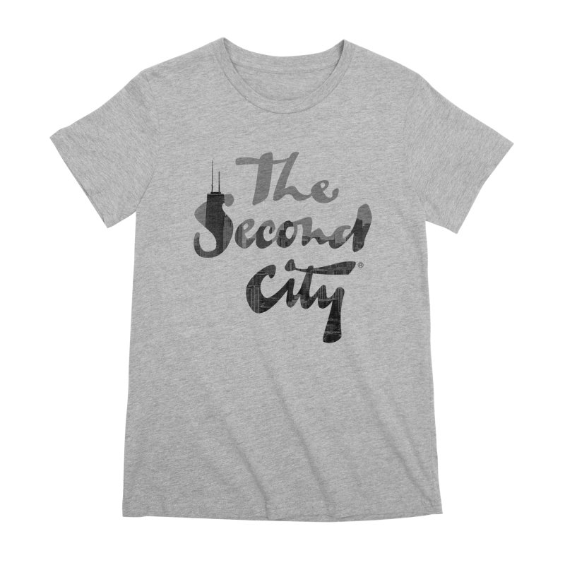 Stacked Skyline Women's Premium T-Shirt by The Second City