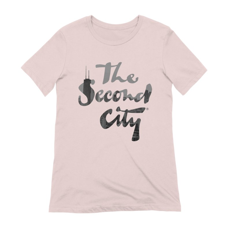 Stacked Skyline Women's Extra Soft T-Shirt by The Second City