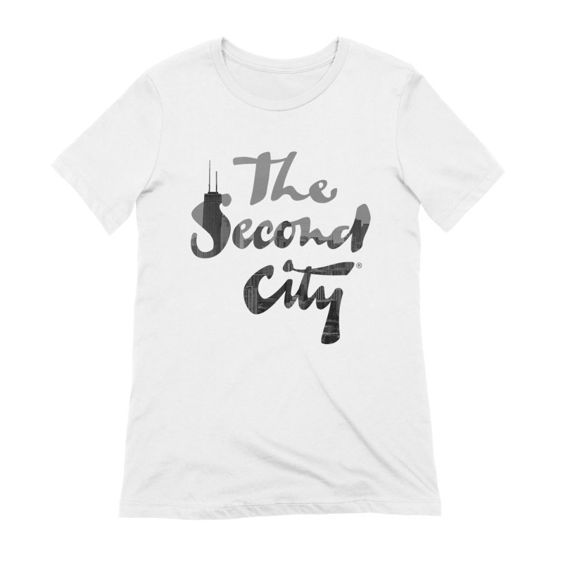 Stacked Skyline Women's Extra Soft T-Shirt by secondcity's Artist Shop