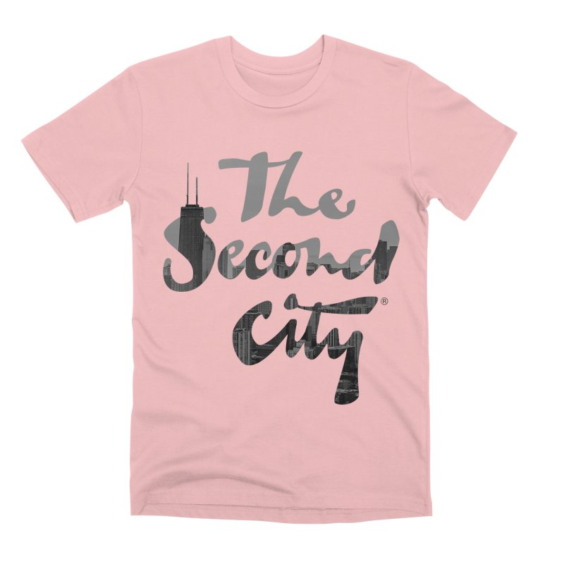 Stacked Skyline Men's Premium T-Shirt by The Second City