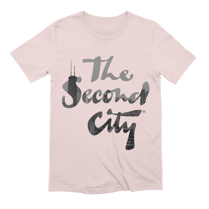Stacked Skyline Men's Extra Soft T-Shirt by The Second City